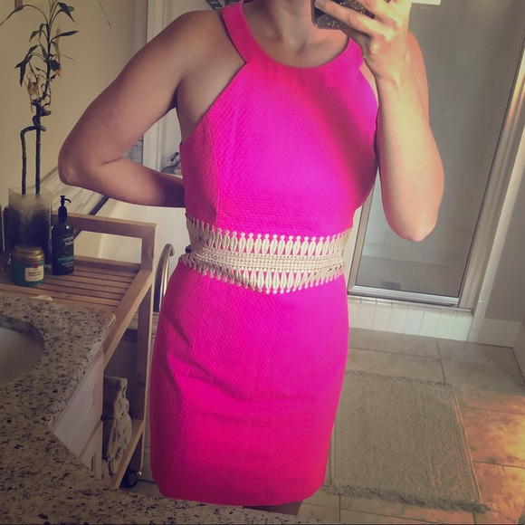 0ead8a1922f459 Lilly Pulitzer Dresses & Skirts - Lilly Pulitzer Ashlyn Dress, hot pink, ...